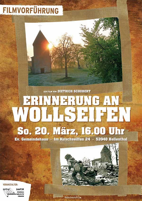 Plakat-Wollseifen